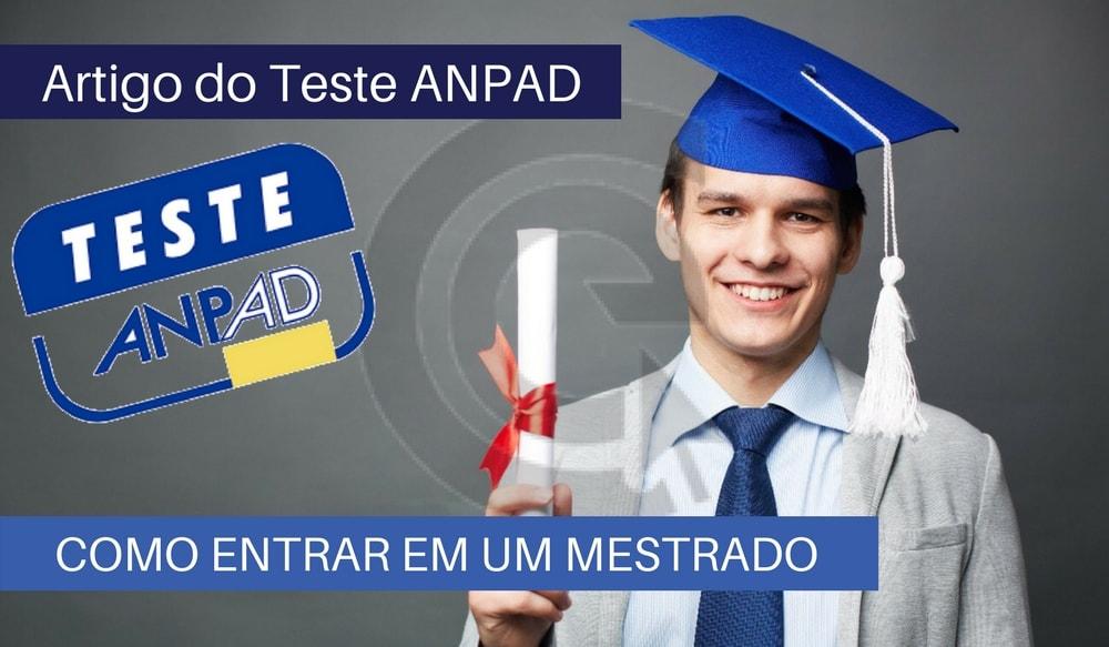 Como entrar em um Curso de Pós-Graduação (Mestrado e Doutorado) - Teste ANPAD