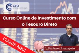 Aprenda Como Investir no Tesouro Direto – Curso 100{311dbb201fec8eed315b87a2d1a0188379fb541a92d50302d9ec57faaddeb5c5} Online